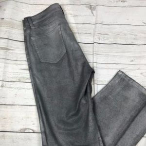 Miracle Body Woman's Size 4 Silver Pants Jeans A1
